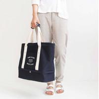 Korea Iconic Layer Bag / Travel Organizer Tote / Shoulder Bag (WRF03)