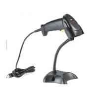 Barcode Scanner USB 1D With Stand