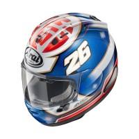 Arai RX7X Pedrosa Samurai Original Helm Full Face - Graphic Blue White