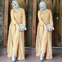 Jumpsuit/Overall Celana Wanita Cantik Modern Panjang Rubiah Linen
