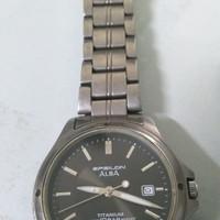 Jam tangan Alba Epsilon Titanium tipe V732-0R80