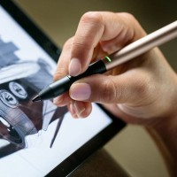 Stylus Adonit Pixel Ujung Runcing Palm Rejection Sensitive iPad Asus 2