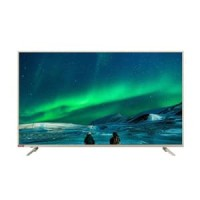 Changhong 55E6000i Android LED TV Smart - Silver [55 Inch]*free ongkir