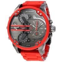 Jam Tangan DIESEL Watches Mr. Daddy DZ7370 Merah Best Premium Quality