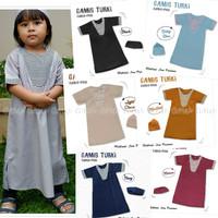 Jual Gamis Koko Turki Anak 0-6 Tahun Abaya Jubah Baju Muslim Anak Laki Murah