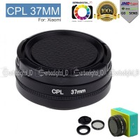 CPL Filter Lens Accessory 37mm For Xiaomi Yi + Lenscap