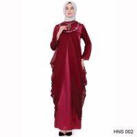 Jual promo Baju Gamis Modern Untuk Pesta Warna Merah Murah
