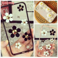 BotexBling DIY flower Case for samsung galaxy S6 Edge plus S7 Edge s8