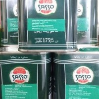 NEW Minyak Zaitun Sasso kaleng 175ml - Olive Oil Pure - Olio di Oliva