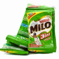 BARU Susu Milo 3in1 Sachet 35 Gram Milo plus Dancow 35Gram Milo Dancow