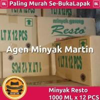 PROMO Minyak Goreng Resto 1000 ML x 12