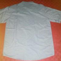 BARU Baju Kemeja Muslim Modern Pria - Koko COLE Blue-White