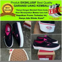 RARE PRODUCT SEPATU SNEAKERS WANITA VANS AUTHENTIC MULTIPOP BLACK RA