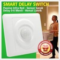 Saklar Dinding Sensor Gerak Pir Adjustable Wall Switch Infrared Motion