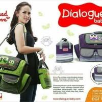 Jual Dialogue Baby Tas Besar Perlengkapan Bayi OWL Series DGT 7244 Murah