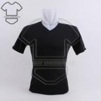 Kaos Dalam Pria Masterman V-Neck Putih Hitam Abu   Oblong Warna
