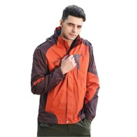 Jaket Gunung / Outdoor / Hiking - Snta 8802 Bown Orange