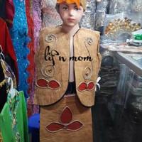 Jual Pakaian adat anak baju papua kayu Lk - Pr Murah