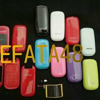 Casing/Kesing/case Samsung Flip  GT E 1272 E1272 Caramel Fullset
