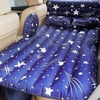 Kasur mudik travelling di mobil nyaman untuk bayi ada bantal pelindung