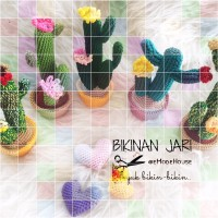 Cactus Amigurumi piantine grasse all'uncinetto | Cacto de crochê, Flor de  crochet, Cactos | 200x200