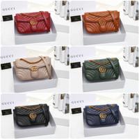 f9af46e4f Gucci Marmont WITH BOX M4256 / 9950#3 Size : 26x8x16 Quality : Semi O
