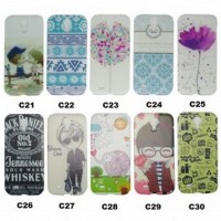 Painting Phone Plastic Case for Samsung Galaxy S4 - C27