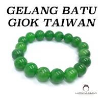 GELANG BATU GIOK TAIWAN ASLI NATURAL
