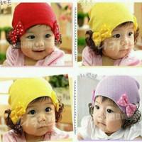 Topi bayi/topi anak/topi noni/topi bonnet/kupluk bayi/topi winter