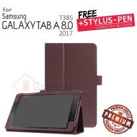 Samsung Galaxy Tab A 8 8.0 A8 2017 T385 - Premium Leather Flip Case