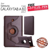 Samsung Galaxy Tab A 8 8.0 A8 2017 T385 - Rotating Leather Flip Case
