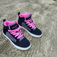 Sepatu anak AIRWALK JORGE kids BLACK PINK
