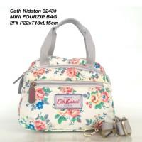 Tas Wanita Cath Kidston Selempang Mini Four Zipped Bag 3243 - 3