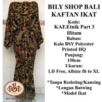 Kaftan Ikat Utari Etnik Batik BILY SHOP BALI Premium Allsize Jumbo New