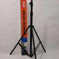 STAND LAMPU / KAKI LAMPU EXCELL POWER STAR 3HD/ TRIPOD LAMPU