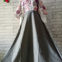 Dress Butik Import (Best Seller) Big size full payet/baju gamis/muslim