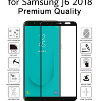 Samsung J6 2018 Tempered Glass Anti Gores Full Cover