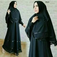 baju muslim anggun syari pakaian hijab modis baju stela wanita Diskon
