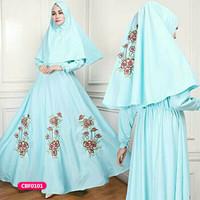 Gamis wanita muslim dress syari alu
