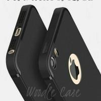 Casing HP Iphone Slim Silicone 5 5s SE 6 6s 6 Plus 7 7 Black Soft Cas