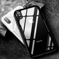 Casing HP Iphone Case X Ten 10 9 8 7 Plus CAFELE SUPCASE TPU Glass Ul