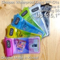 Casing HP Iphone Dicapac Waterproof Case WP C1s 6 Samsung S5
