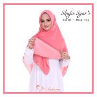 Jilbab Syafa jilbab bolak balik yang lembut kekinian
