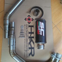 Knalppt Sc Project Crt Carbon Fiber Import Ninja 250 fi, cbr250rr