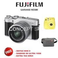 Fujifilm X-A5 KIT 15-45mm Kamera Mirrorless  Silver . XA5 . X A5