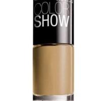 MAYBELLINE Colorshow Nail Polish (Cat Kuku) No.008 Gold Bold