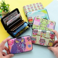 Wallet Card OWL/ Dompet Card ID/ Tempat Kartu holder motif OWL korean