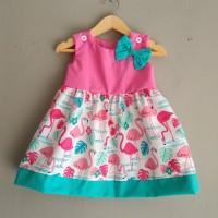 Baju bayi perempuan dress bayi handmade katun