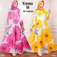 Gamis Syari Maxi Emma 1 / Baju Muslim/ Pakaian Muslim