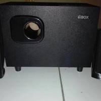Portable Speaker Aktif IBOX V-100TU PC Laptop Komputer subwoofer bass